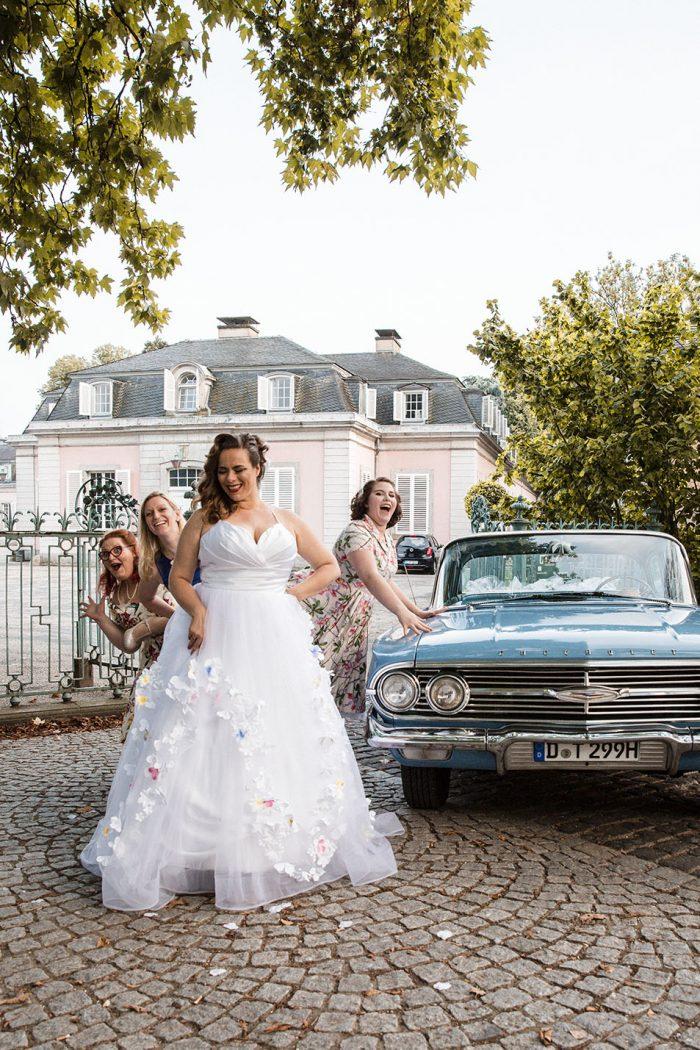 Bride & Bridesmaid Shooting mit Susana